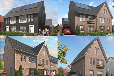 Burgje Odijk nieuwbouw woning types
