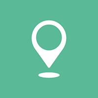 Huizenjacht-locatie-icoon