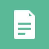 Hypotheek-documenten-icoon