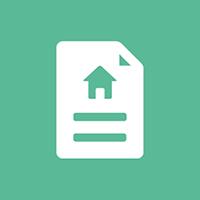 Hypotheekbelofte-financieringsbelofte-icoon