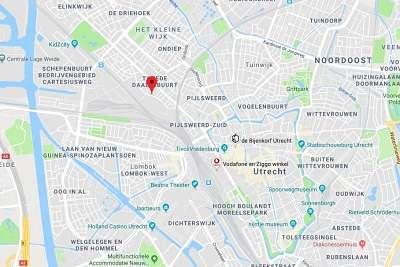 wisselspoor Utrecht nieuwbouw locatie